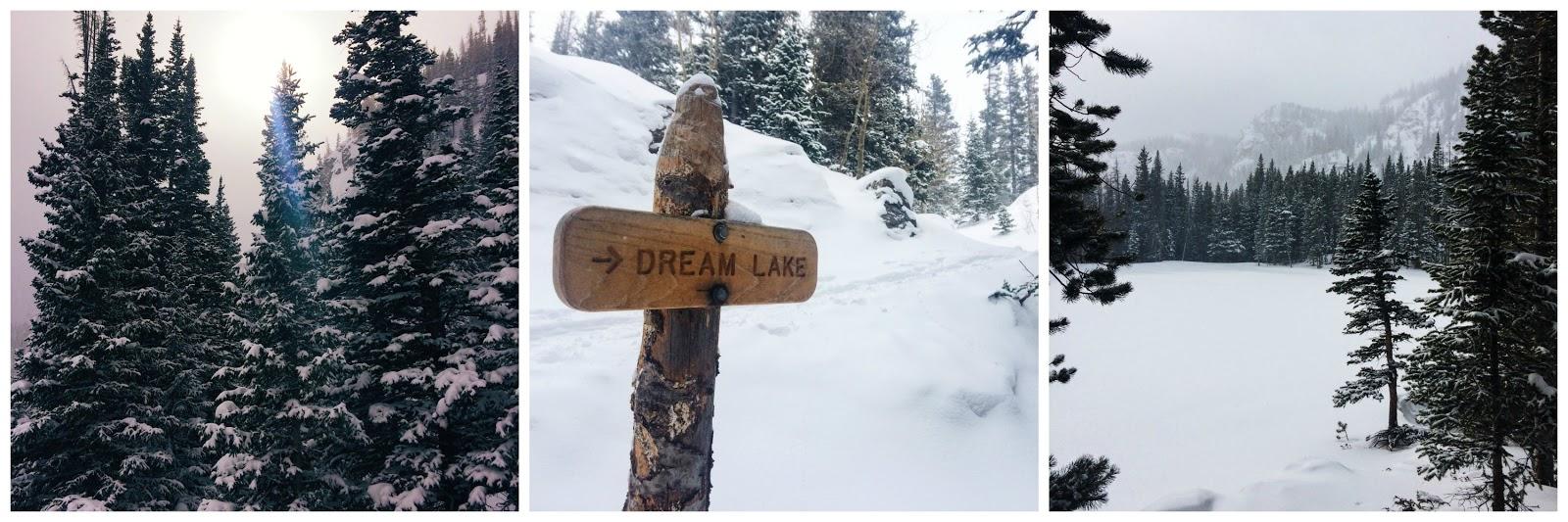 Dream Lake Trail Rocky Mountain National Park