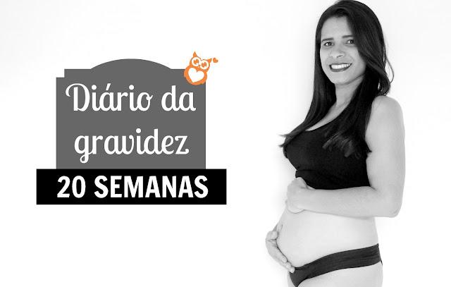 Diário da gravidez - 20 Semanas