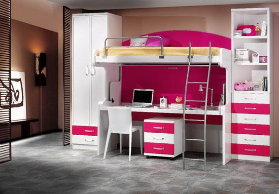 Vives en un departamento peque o ahorra con camas - Camas con escritorio debajo precios ...