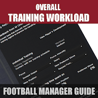 Football Manager Training Workload