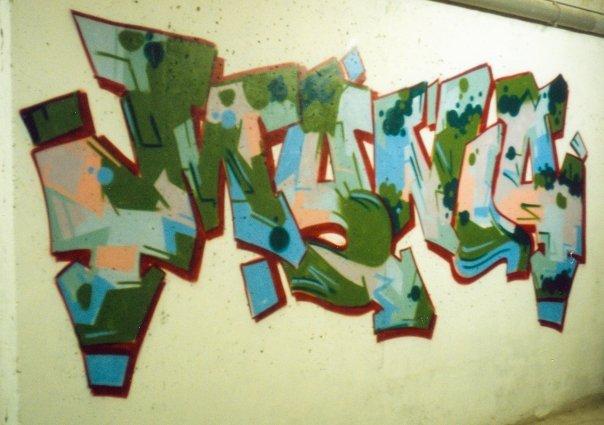 graffiti a