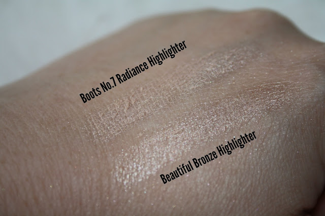 Beautiful Bronze Highlighter - A Boots No.7 Dupe?