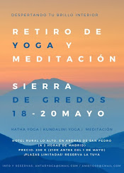 Retiro de Yoga en Gredos 2018