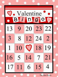 Valentine's Day Bingo For Preschoolers 6