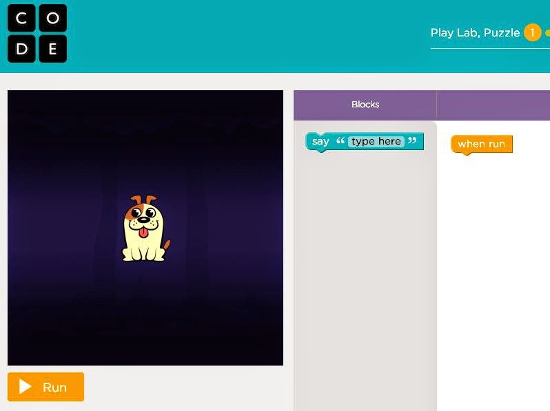 http://learn.code.org/s/playlab/stage/1/puzzle/1