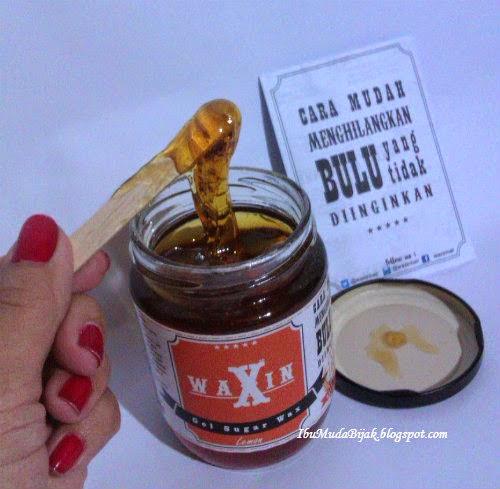 Review Waxin Gel Sugar Wax Penghilang Bulu