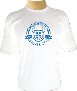 Camiseta Monsters University Logo