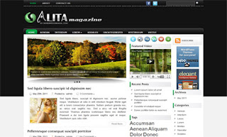 Alita WordPress Theme