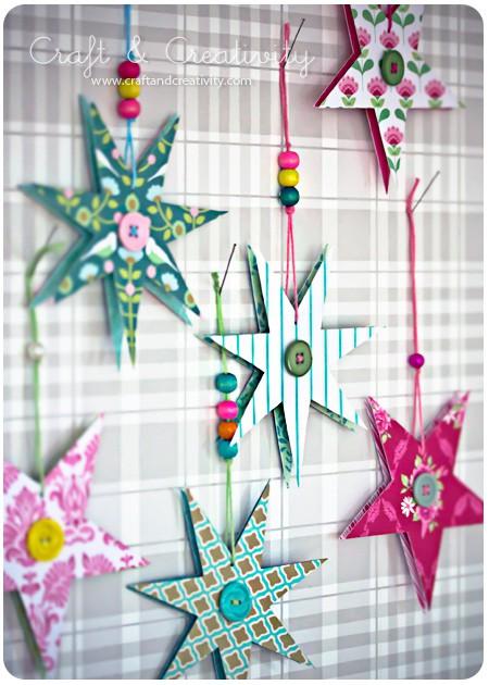 Weihnachtsterne von Craft und Creativity
