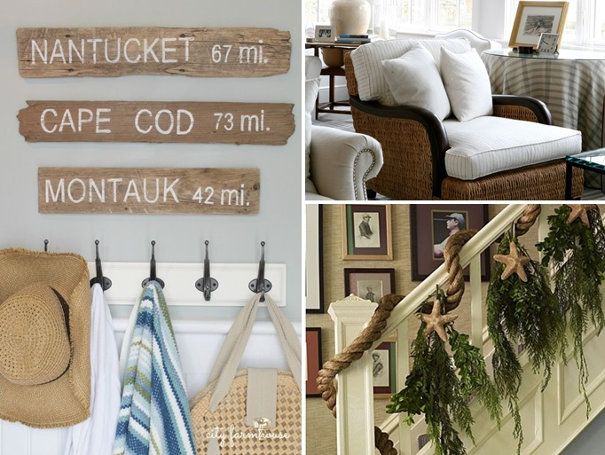 The Interiors Of A Cape Style Home Can Vary Greatly. Natural Elements Work  Their Way Indoors For A Casual Feel. Driftwood Signs, Wainscoting  (originally ...