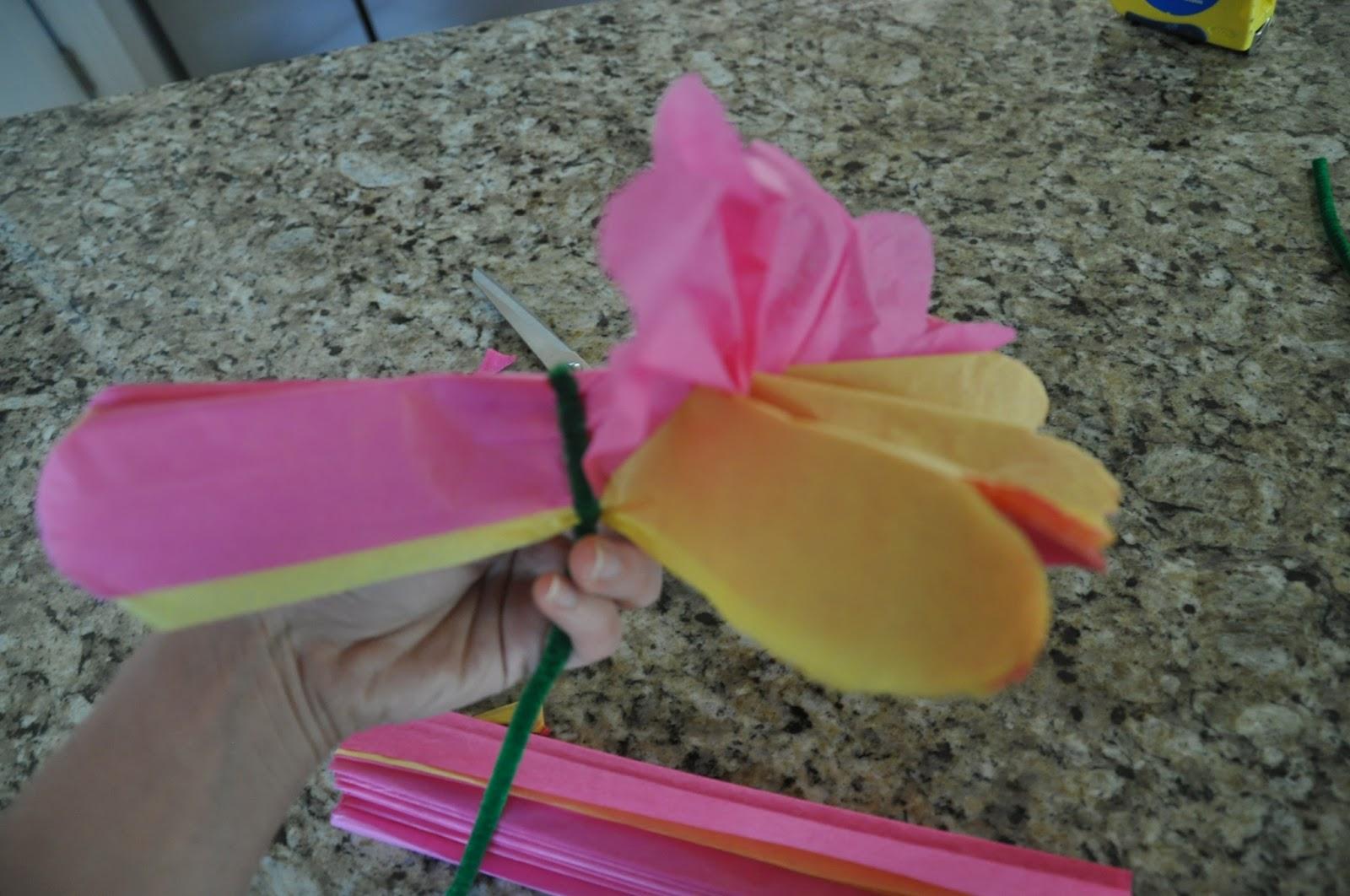Mam s todoterreno c mo hacer una flor con papel de seda - Sedas para unas ...