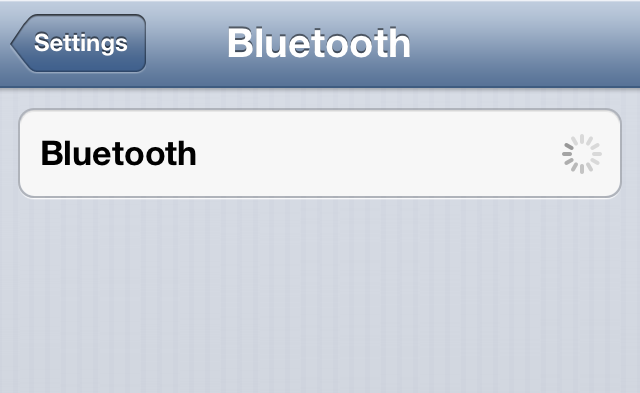 iphone bluetooth unavailable