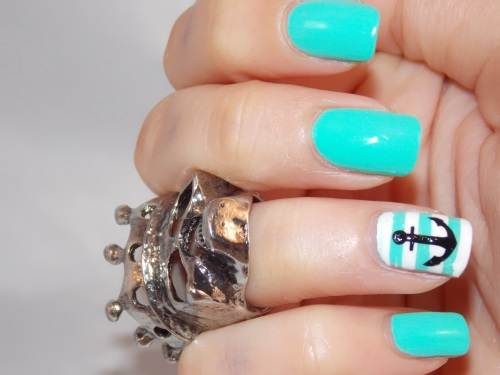 nail art too yacht to handle china glaze blog beauté psychosexy