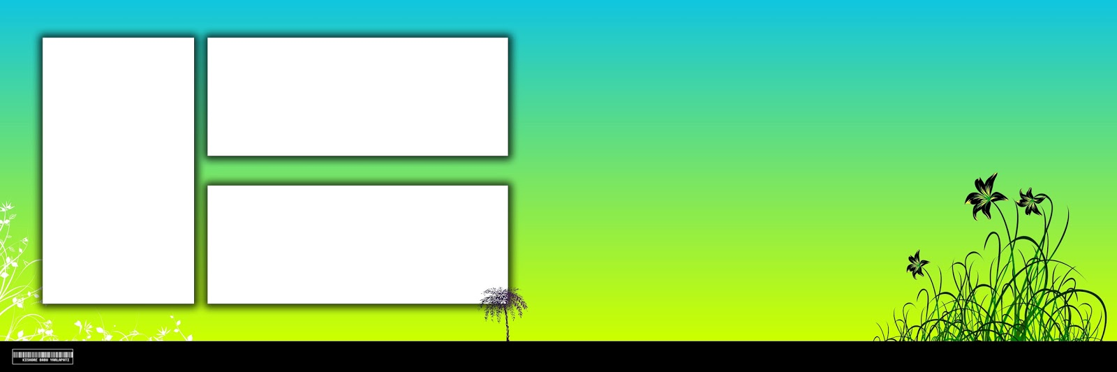 All Free Vector's Special 12X36 Backgrounds