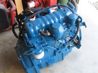 Whispering Jesse's new remanufactured Perkins 4-108 50 horsepower engine
