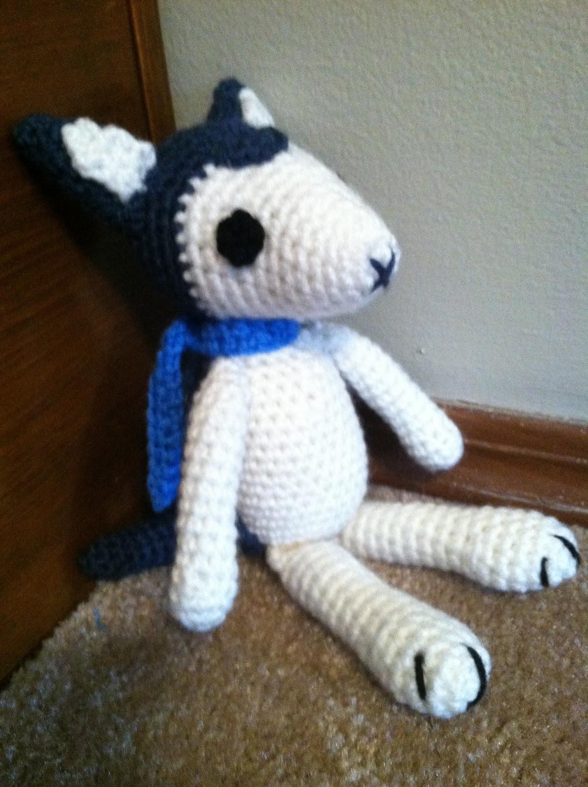 Heart in Flight Crochet: Wolf Children Ame and Yuki Plush Pattern