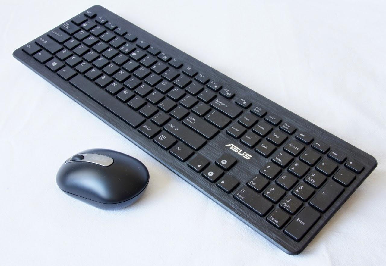 беспроводная мышь и клавиатура у моноблока ASUS ET2321