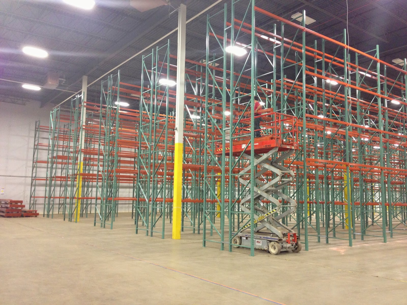 roll product shelves rack pull storage pallet shelving racks pic industrial out warehouse feature products