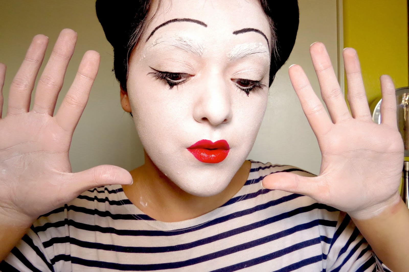 Halloween tutorials parisian mime laura neuzeth october 16 2013 baditri Choice Image