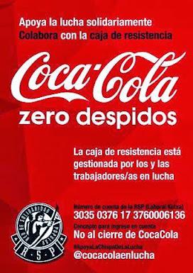 #Cocacola0despidos