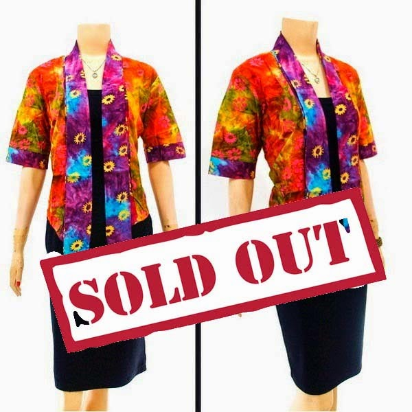 Baju Blouse Batik SOLD OUT