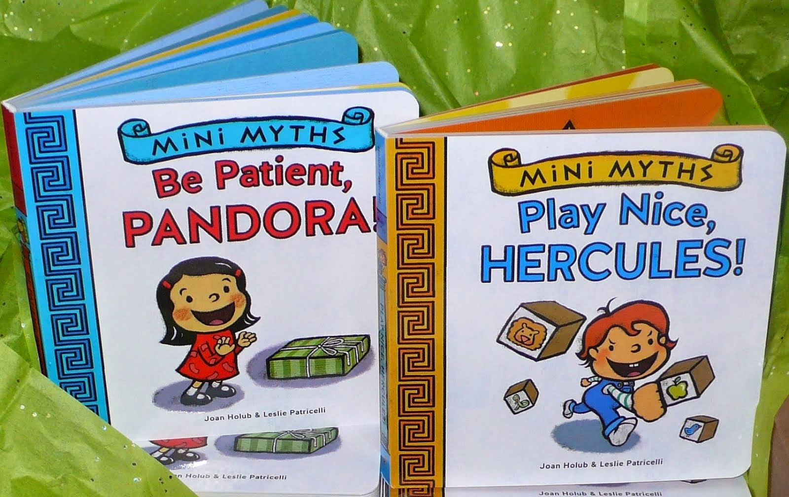 Mini Myths: Play Nice, Hercules! & Be Patient, Pandora!