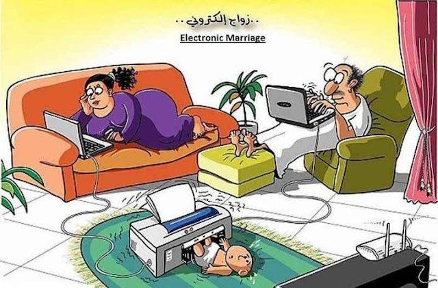 Electronic Marriage