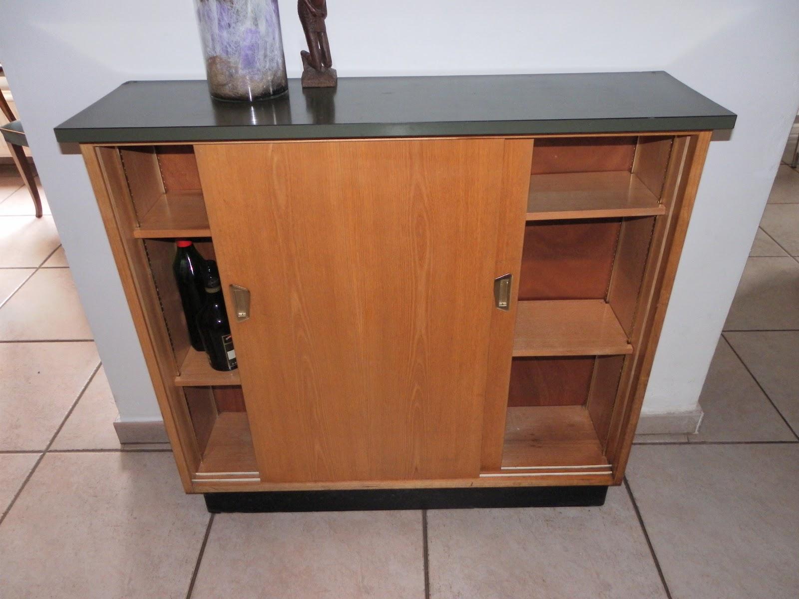 Lucie la chineuse meuble de rangement ann e 50 for Meubles domon lachine