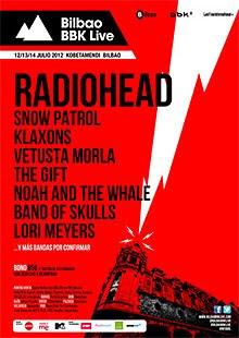 Snow Patrol, Klaxons, The Gift, Lori Meyers al Bilbao BBK Live Festival 2012