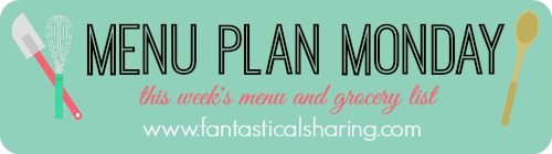 Menu Plan Monday | My week of meals, grocery list, and how much I'm spending on these delicious treats! #menuplan #groceries