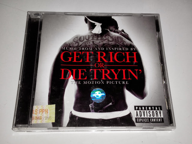 Get Rich Or Die Tryin Soundtrack Cd ost  get rich or die tryin Get Rich Or Die Tryin Soundtrack