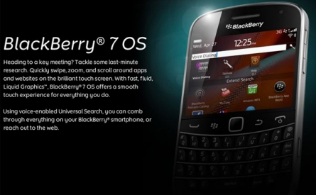 BlackBerry OS 7 most secure, Compared iOS 5 and Android 2.3