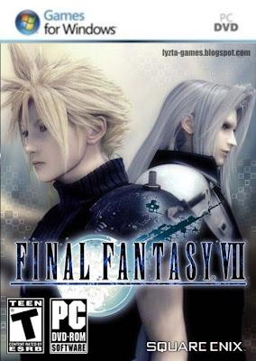 Final Fantasy VII PC Cover