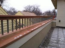Parapet Wall Roof Railings