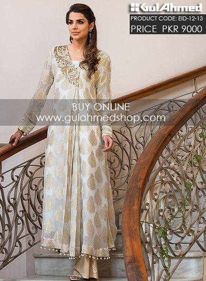 Gul Ahmed Embroidered Dresses
