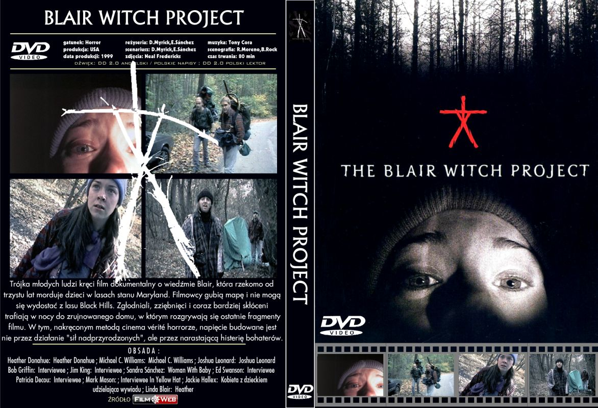 blaire witch project The blair witch project three film students vanish after traveling into a maryland forest to film a documentary on the local blair witch legend, leaving only their footage behind info from imdb: share: watch the blair witch project online the video keeps buffering or detele.