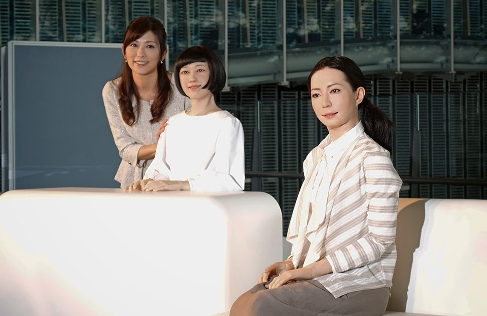 Robot Cantik Jadi Penyiar Televisi