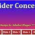 CSS3 Slider Concept Design