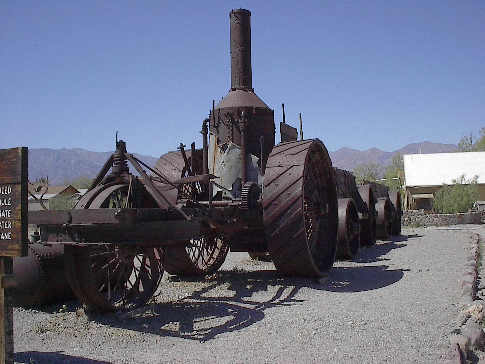 Borax Tractor