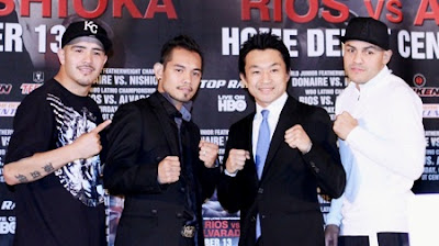 Nonito Donaire vs Toshiaki Nishioka Fight