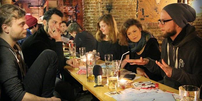 Der Berliner Musiker Treff im Zosch. Foto: Susi Baron
