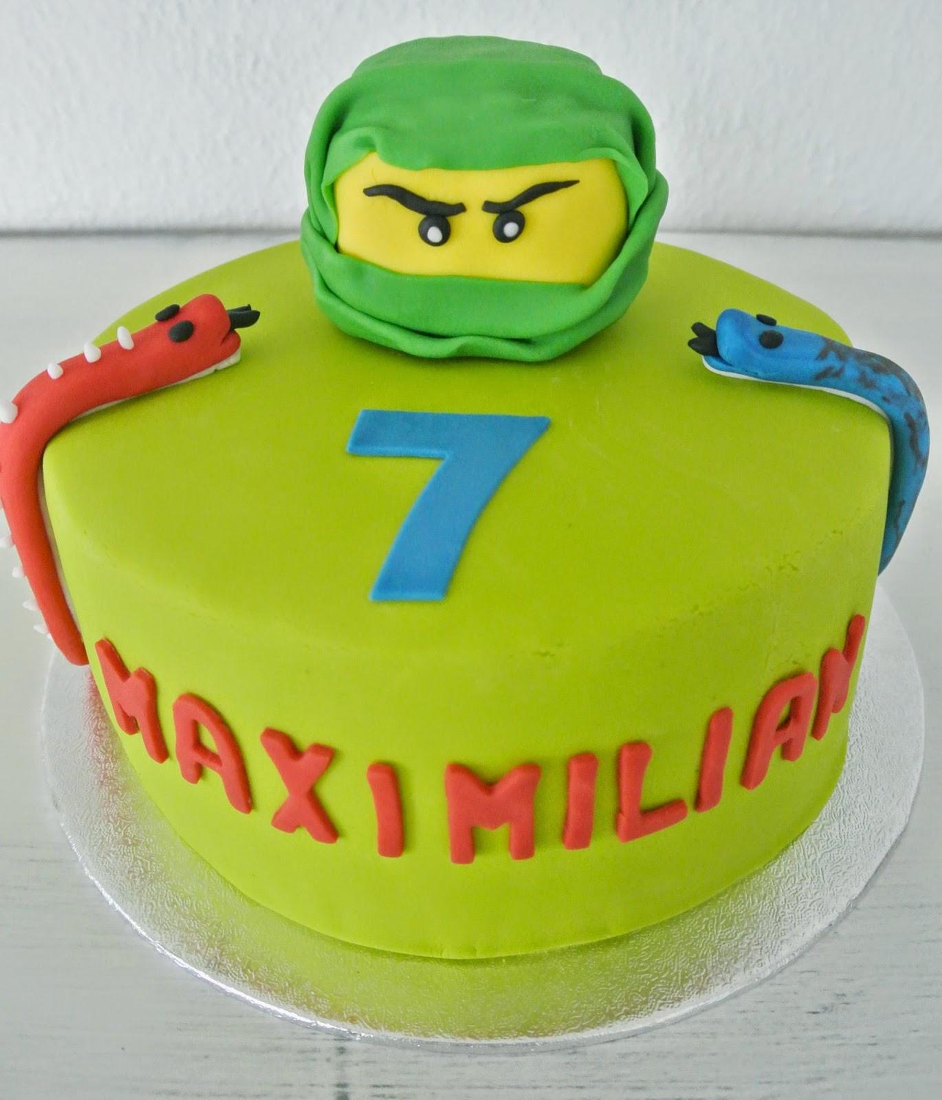 Ninjago torte for Decorazioni torte ninjago