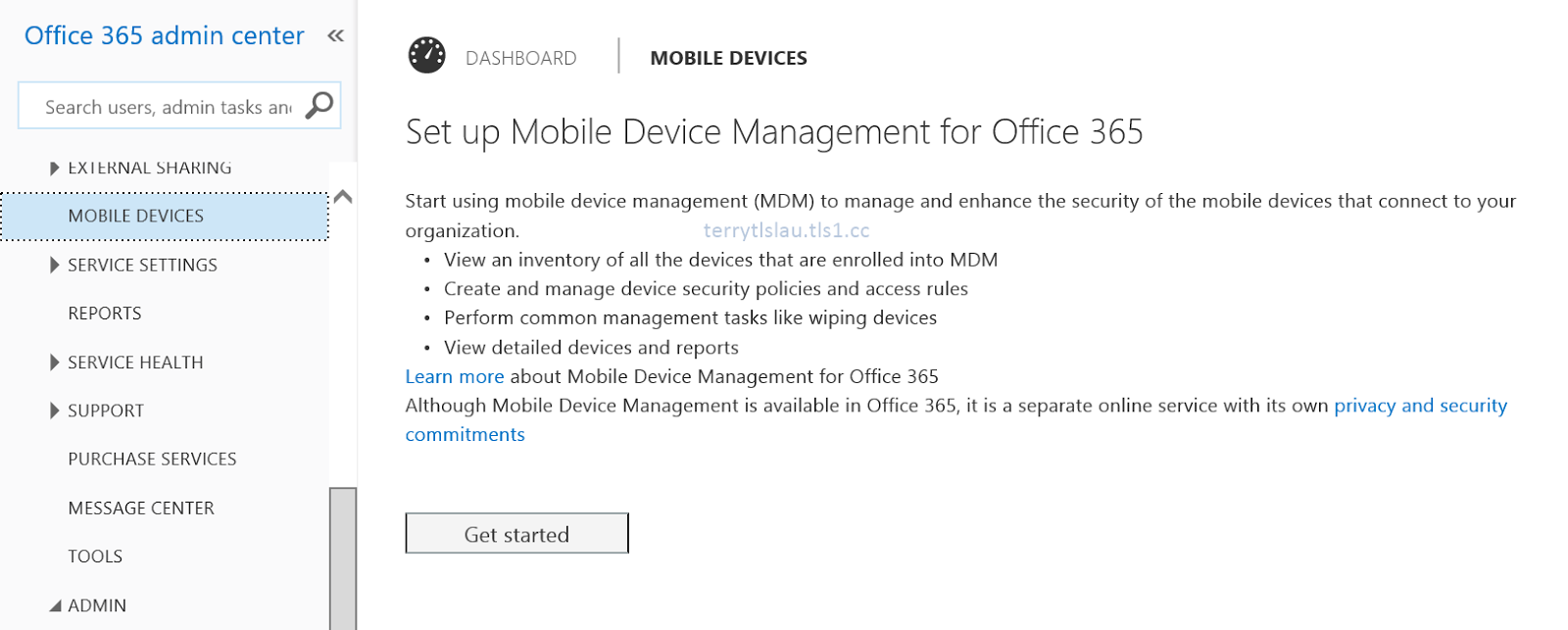 Terry Lus Blog Mobile Device Management For Office 365