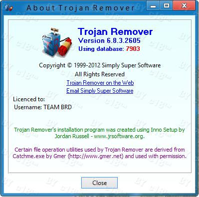 TROJAN REMOVER v6.8.3.2605 FULL TERBARU