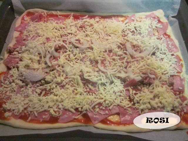 Entre cacharros de cocina masa para pizzas thermomix for Cacharros de cocina