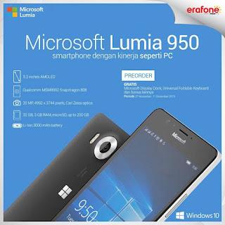 Promo PreOrder Microsoft Lumia 950