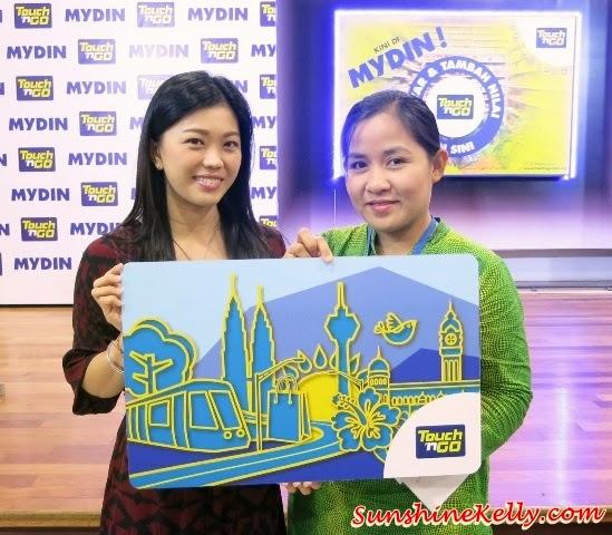 Touch N Go Now at Mydin, Touch N Go, Mydin Mall, Mydin,