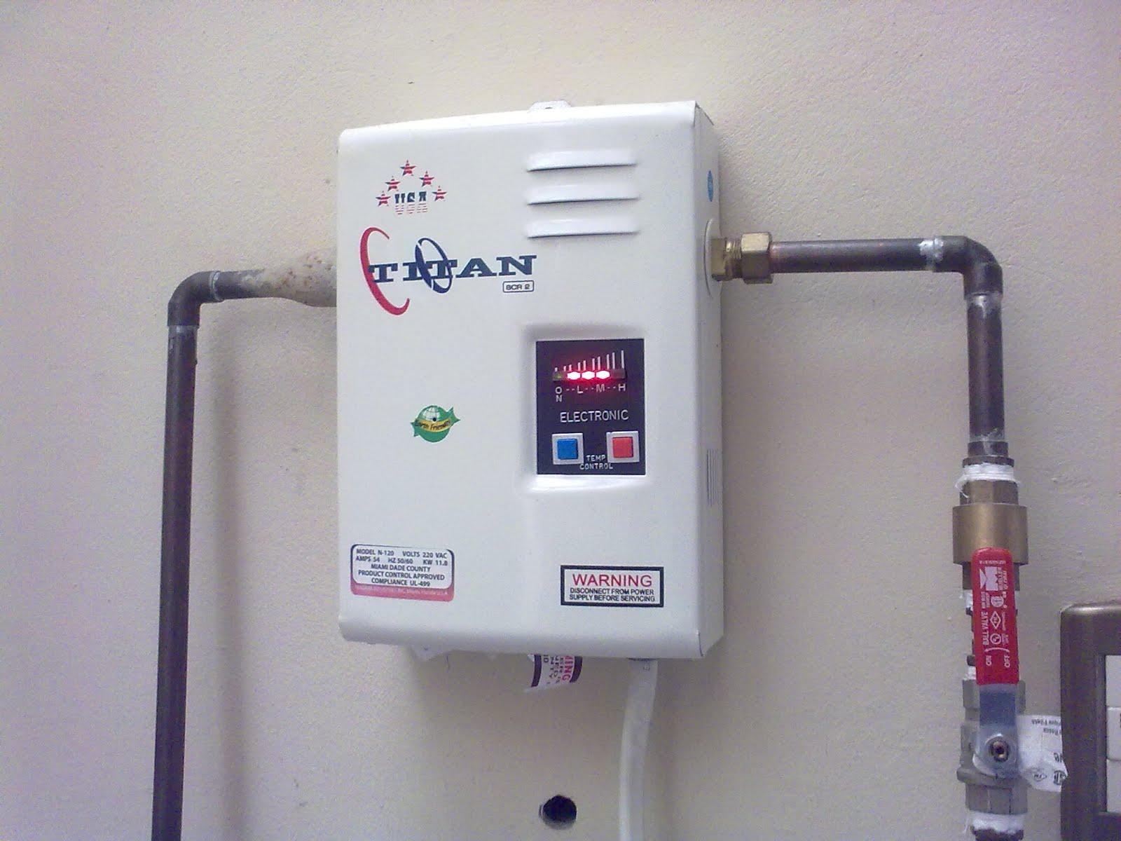 Reparaci n de calentadores de agua titan - Calentador electrico de agua precio ...