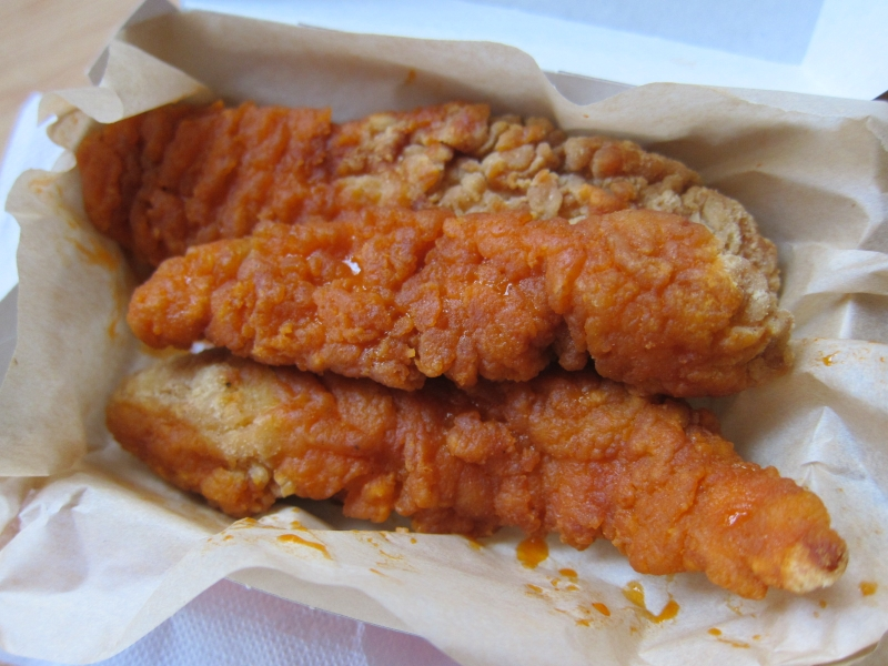 Burger King's new Buffalo Chicken Strips are available through October ...