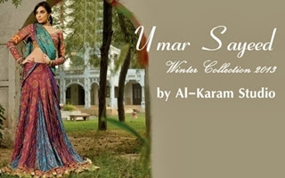 Umar Sayeed Winter Collection 2013-14